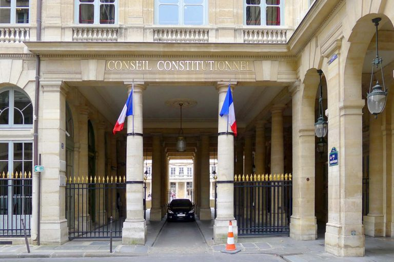 Conseil constitutionnel (Wikimadia Commons)
