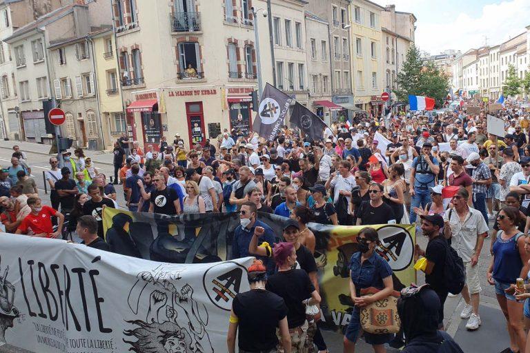 Manif Nancy, 14 août 2021 (Le Bloc Lorrain)