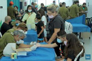 Israël : dépistage des enfants (euronews)