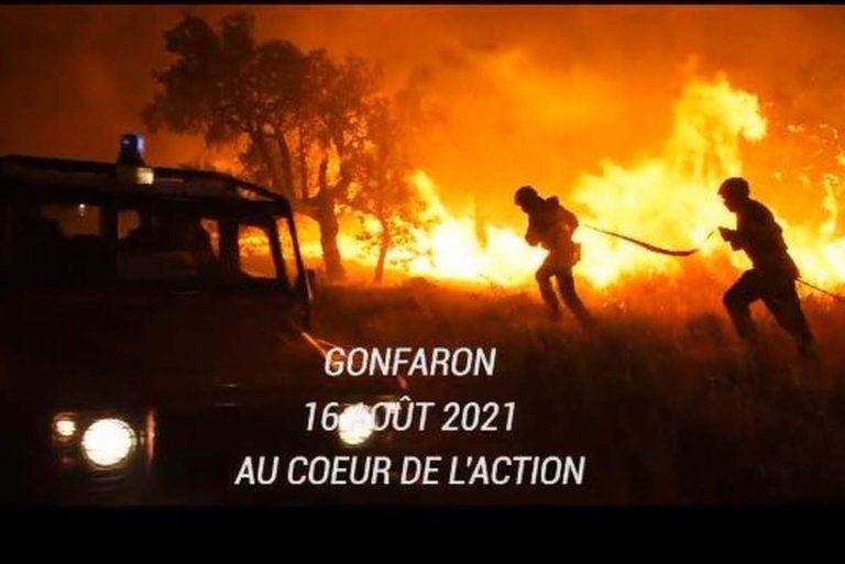 Incendie dans le Var (capture twitter SDIS-83)