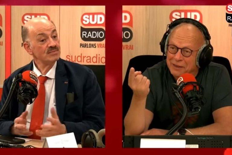 Alain Bauer à Sud-Radio (capture)