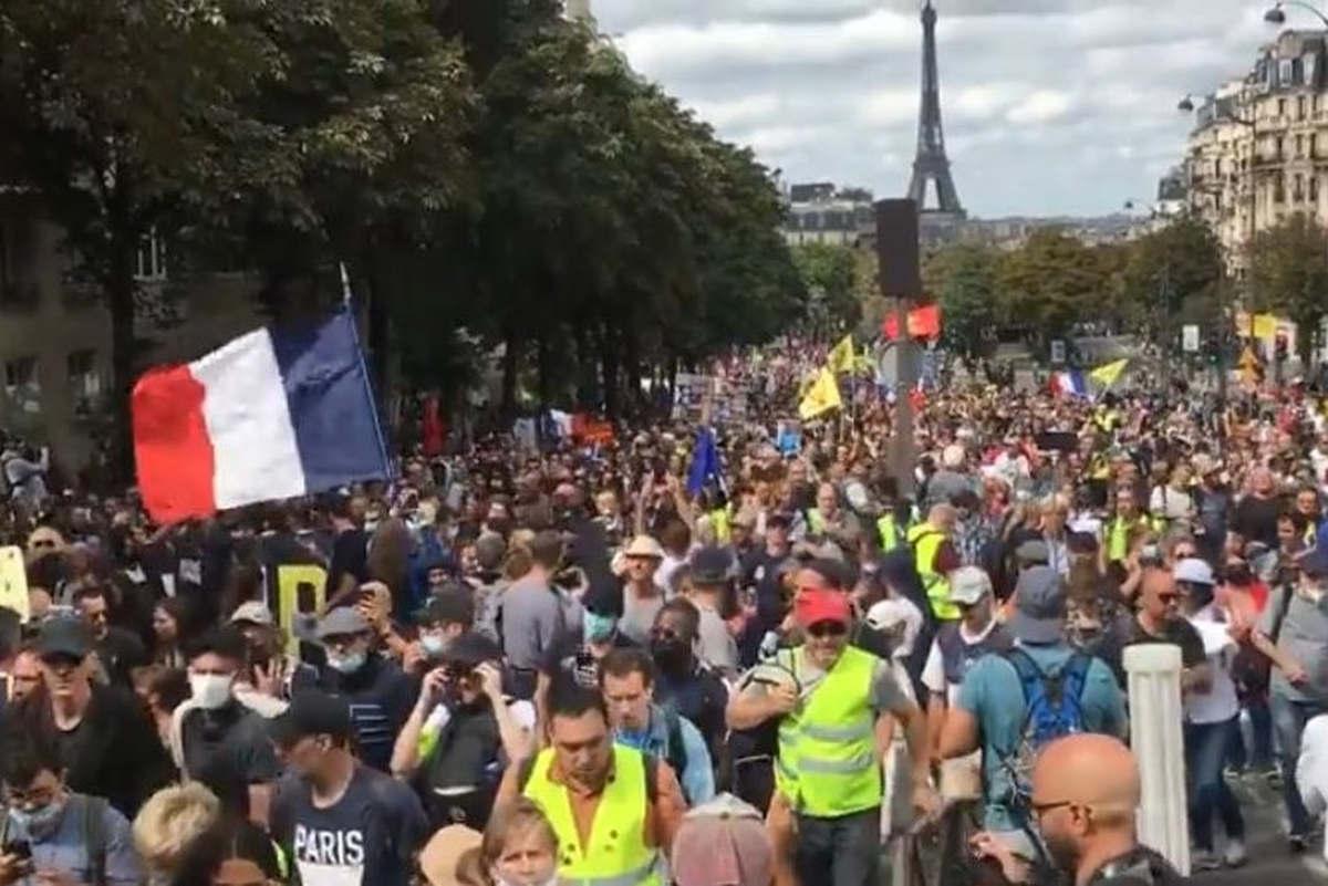 Manifs monstres à Paris (capture Unité CGT Facebook)