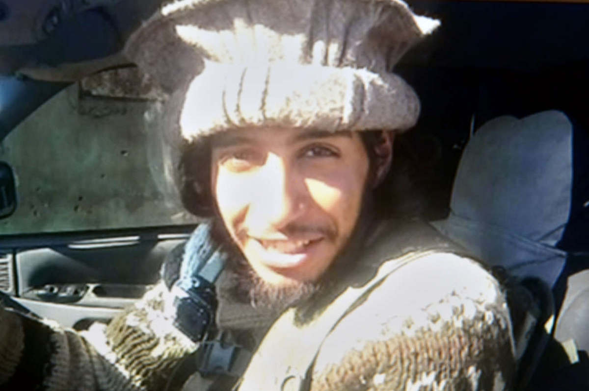Abdelhamid Abaaoud en Syrie (DR)
