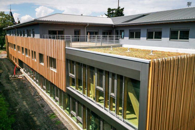 Un bâtiment biosourcé unique en France (DR)