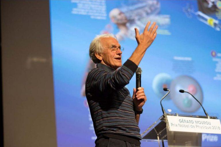 Gérard Mourou, prix Nobel de physique (Jérémy Brarande, Flickr)