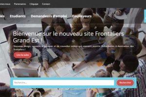 Nouveau site internet Frontaliers Grand Est