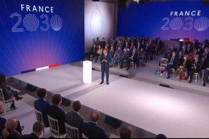 Discours du Président de la République (capture Elysée)