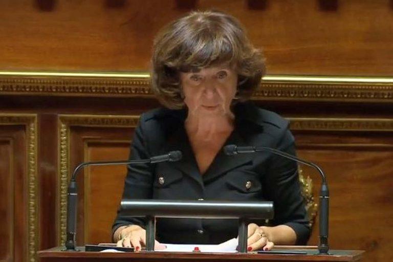 Laurence Muller-Bronn, sénatrice du Bas-Rhin au sénat (capture Twitter)