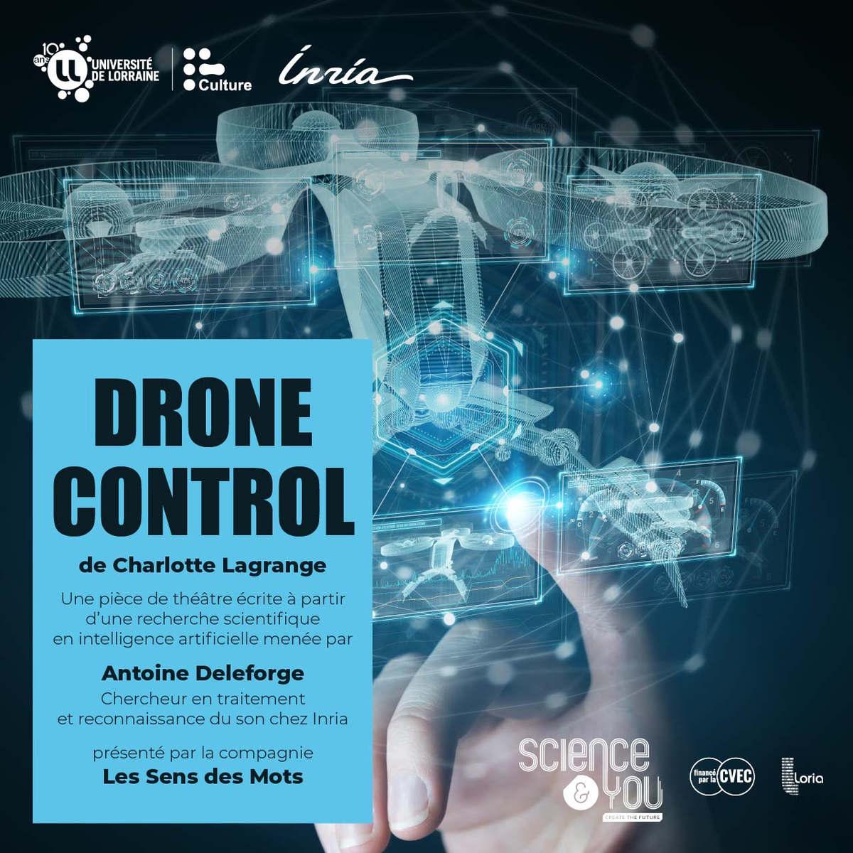 Drone control (Université de Lorraine)