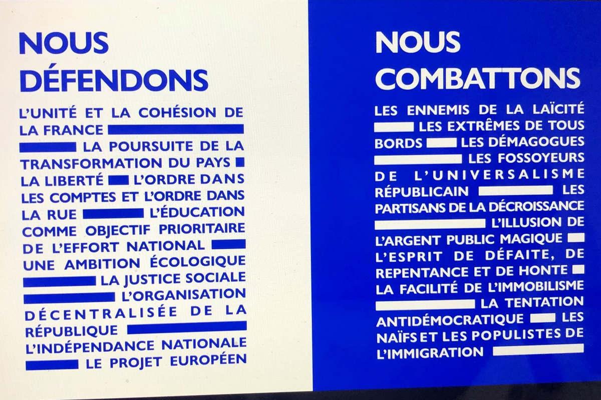 Le programme d'Edouard Philippe