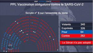 Vaccination obligatoire : le vote du sénat