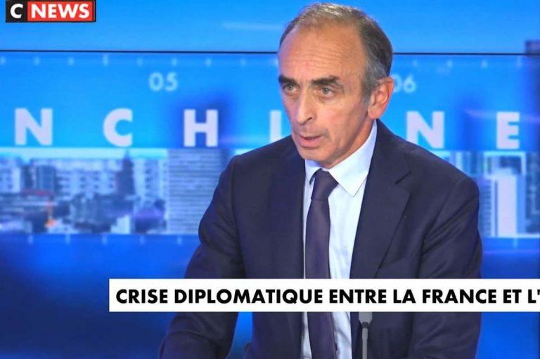 Eric Zemmour sur CNews (capture)